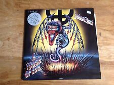 "Judas Priest  - 12"" Record  A Touch of Evil - Inc Giant Poster  - Un-played"