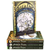 Amelia Fang 4 Books Children Collection Paperback By Laura Ellen Anderson