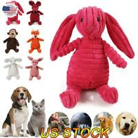 Dog Chew Toy Squeaky Plush Dog Toy For Aggressive Chewers Plush with Squeakers