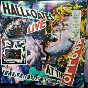 HALL & OATES Live At The Apollo Released 1985 SEALED/NEW Vinyl Collection USA