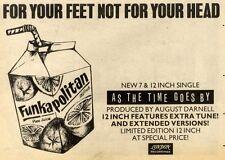 1/8/81PN31 FUNKAPOLITAN : AS THE TIME GOES NY ADVERT 7X11