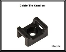 Cable Ties mounting cradle   Tie wraps Anchors   Screw mountable   5 mm   CA3