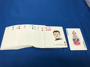 1963 Stancraft Football near Complete Set 53 (missing one Joker) mostly NM