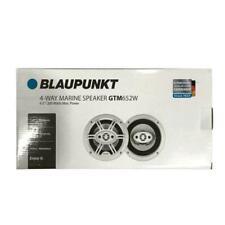 """Blaupunkt 4-way 6.5"""" Marine Speakers 200 Watts Max GTM652W"""