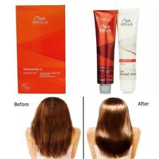 Wella Wellastrate Permanent Straight System Hair Straightening Cream Kit Intense