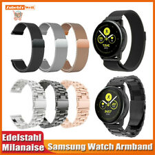 Samsung Galaxy Watch 42mm Active Gear S2 Classic Sport Uhren Armband Edelstahl