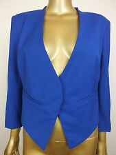 BARDOT BLUE JACKET COAT BLAZER TOP SUIT FORMAL  - 12 8 40 M