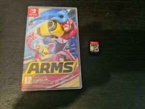 Nintendo ARMS (Nintendo Switch) Boxed. VGC. Free P+P. FAST DISPATCH.