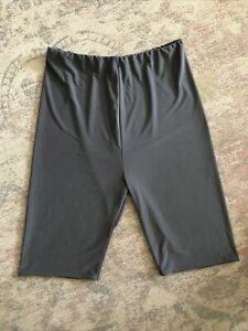 PLT Grey Silky Cycling Shorts Size 14 Exc Cond