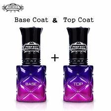 8ml Soak off Gel Nail Polish Top and Base Coat Nail Art Lacquer UV Led Manicure