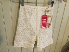 Nwt White Bali Lace high waist long leg girdle size 5 small