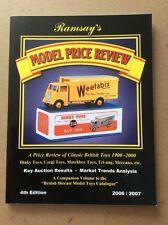 MODEL PRICE REVIEW BY JOHN RAMSAY