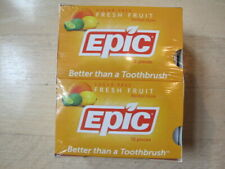 Epic Dental Gum - Xylitol - Fresh Fruit - 12 Count - Case of 12 144 Pieces Total