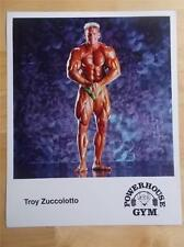"TROY ZUCCOLOTTO bodybuilding muscle POWERHOUSE GYM promotional photo 8"" X 10"""
