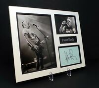 Peter HOOK Signed Mounted Photo Display AFTAL COA New Order, Joy Division Singer