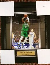 Boston Celtics Kyrie Irving Framed Wall Picture NEW 11x14