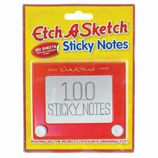 Office Novelty 100pg Etch-A-Sketch STICKY NOTES Pad Post It Notes