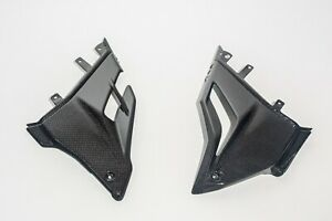 Ducati Streetfighter V4 Carbon Fiber Bally Panels Lower Side Fairings Covers