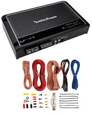 Rockford Fosgate Prime R150X2 R150 150 Watt RMS 2-Channel Car Amplifier+Amp Kit