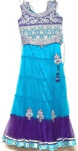 """32"""" Indian Ghagra Choli for girls age 9 to 13 years Lehanga Bollywood Party"""