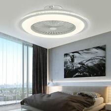 23 inch Ceiling Fan Light Remote Control Modern Acrylic Fan Light LED Chandelier