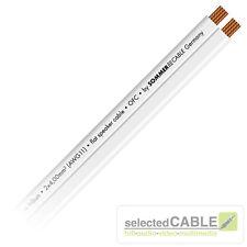 Sommer Cable 10m Sc Tribune 2x 4,0 mm ² 3mm Piatto Cavo Altoparlante Rest