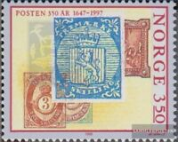 Norwegen 1195II, fehlende Marke im Bild postfrisch 1995 Norwegische Post