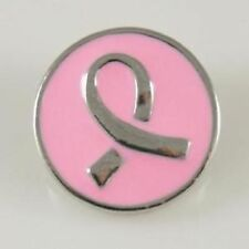 Petite Ginger Snaps Pink Ribbon Breast Cancer Gp04-03 Interchangeable Jewelry