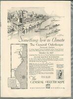 1927 GENERAL OGLETHORPE HOTEL advertisement, Savannah Georgia, opening soon