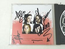 GORE GORE GIRLS - GET THE GORE - FULL BAND SIGNED ALBUM BLOODSHOT Rockabilly NM