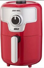 DASH 1.6-QT COMPACT  RAPID AIR FRYER RED COLOR DCAF150HNRD.