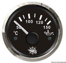 Indicatore temperatura olio 50/150° nero/lucida | Marca Osculati | 27.321.09