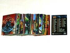 1992 MARVEL MASTERPIECES SERIES 1 BASE 100 CARD SET JOE JUSKO X-MEN SPIDER-MAN