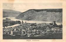 Bingen Germany Totalansicht Ww1 Military Feldpost Postcard 1915