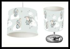DUMBO -  Unisex Nursery Bedroom Set - Lightshade Lampshade & Side Lamp