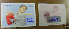 Stan Musial 2010 Topps 6/10 Artist Proof Signed and 1/1 Autographed Print Plate