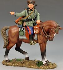 KING & COUNTRY WW2 GERMAN ARMY WS148 MOUNTED COSSACK POINTING MIB