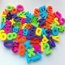 Set Of 26 Colorful Teaching Magnetic Numbers Fridge Magnets Alphabet Multicolor