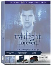 Twilight Saga (DVD, 2013, 12-Disc Set) BRAND NEW