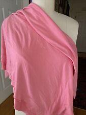Bubblegum Pink Rayon Spandex Knit  Fabric sewing quilting clothing 1 Yard