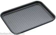 Masterclass Perforated Crusty Bake 24cm x 18cm Non Stick Small Baking Sheet Tray