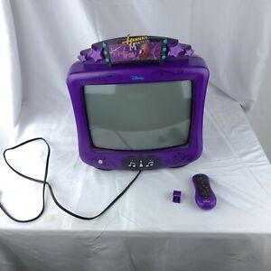 CUTE - Disney Hannah Montana 13 inch  BEDROOM  REMOTE television classic rare