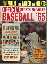 1965 (Oct.) Official Sports Baseball magazine, Tony Oliva, Minnesota Twins~ Fr
