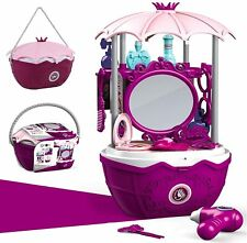 Kürbiskorb Kinder Kosmetik Spielzeug Koffer Mädchen Make-Up Schminkset Geschenk