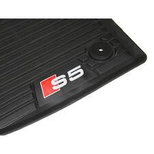 Original Audi S5 (B9) Cabrio/Coupe Fußmatten vorn Gummi Allwettermatten 2-teilig