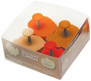 R & M International 492 Pastry/Cookie/Fondant Stamper, 2-Inch, Thanksgiving - Tu