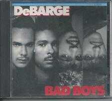 DEBARGE - Bad boys CD Album 9TR West Germany Print 1987 (STRIPED HORSE)