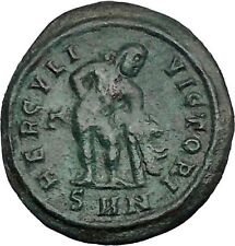 CONSTANTINE I the GREAT 312AD Farnese Hercules RARE Poss UNPUB Roman Coin i49980