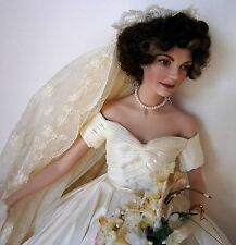Jacqueline Kennedy Bride by Heirloom Doll