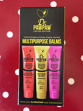 Dr Pawpaw Limited Edition Multipurpose Balms x 3 New Sealed Box